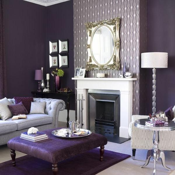 einrichten mit farben lila farbt ne f r magische erlebnisse. Black Bedroom Furniture Sets. Home Design Ideas