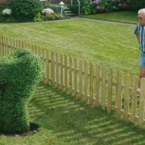 Lustige Gartenfiguren oder die Topiary - Kunst