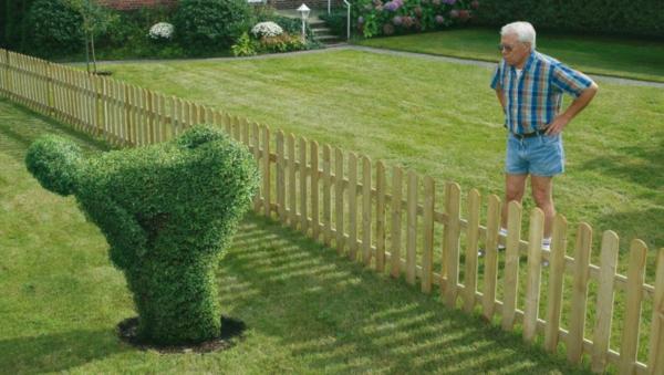 Lustige Gartenfiguren Oder Die Topiary Kunst