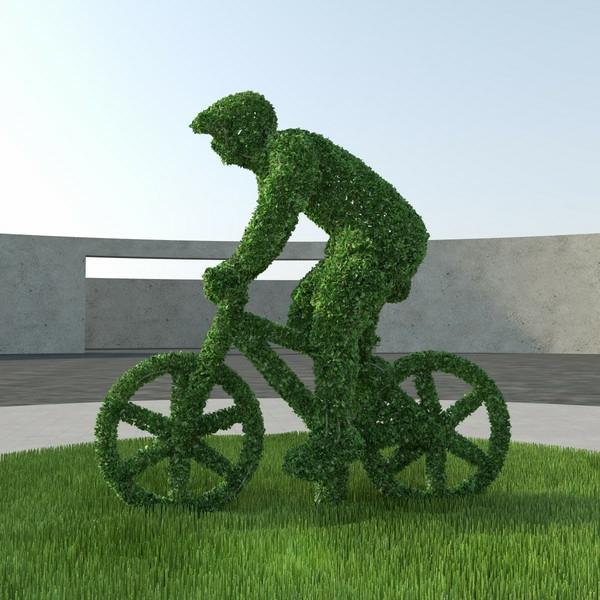 lustige-gartenfiguren-mensch-mit-fahrrad
