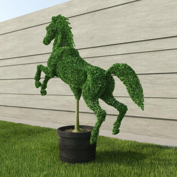 lustige-gartenfiguren-pferd