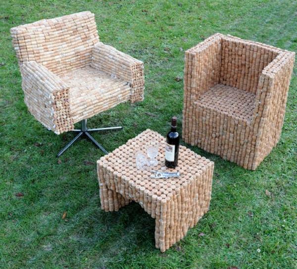 basteln mit korken neue interessante vorschl ge. Black Bedroom Furniture Sets. Home Design Ideas