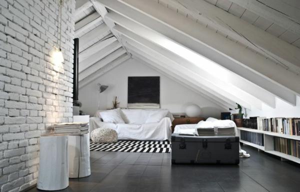 Mochten Sie Ein Traumhaftes Dachgeschoss Einrichten 40 Tolle Ideen