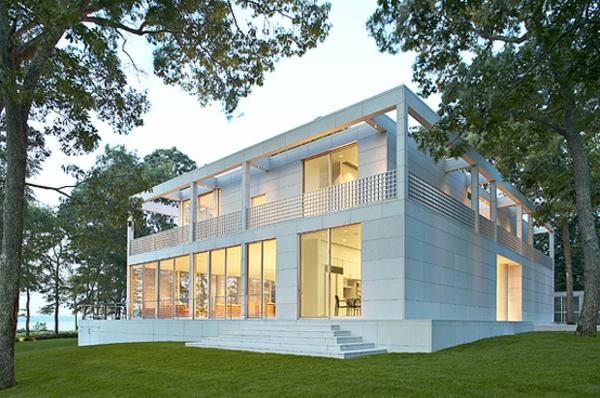 Fassade glas haus  Modernes Glashaus - 41 kreative Beispiele! - Archzine.net