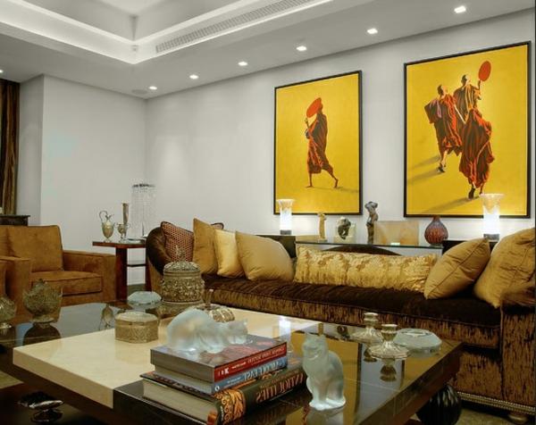 moderne-beleuchtung-für-ein-wnderschönes-wohnzimmer-zwei schöne bilder