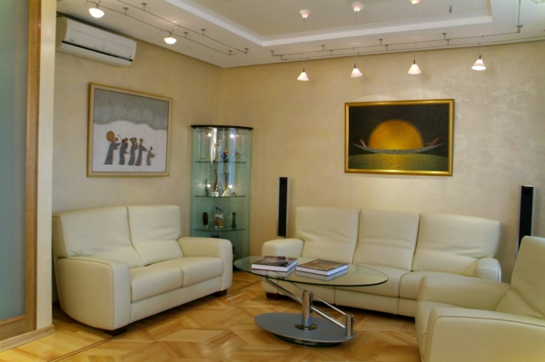 61 coole beleuchtungsideen f r wohnzimmer. Black Bedroom Furniture Sets. Home Design Ideas