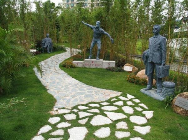 Moderne Gartenskulpturen machen Ihren Garten innovativ! - Archzine.net