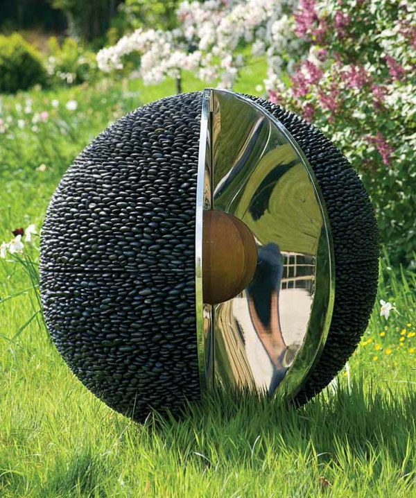 moderne kunst im garten – msglocal, Terrassen ideen