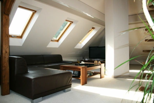 Tolles Wohnzimmer Auf Dem Dach Gestalten