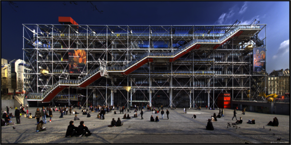 museum-als-moderne-architektur-Pompidou_Paris