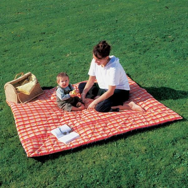 mutter-und-baby-auf-einer-picknick-decke- super schönes foto