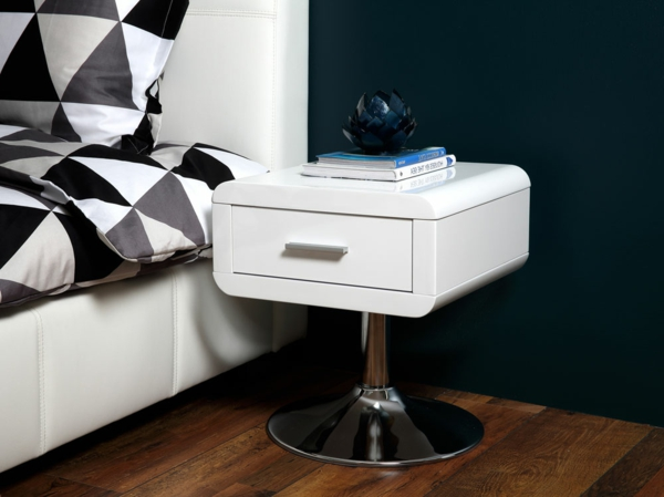 nachttisch schrank in wei 22 neue modelle. Black Bedroom Furniture Sets. Home Design Ideas