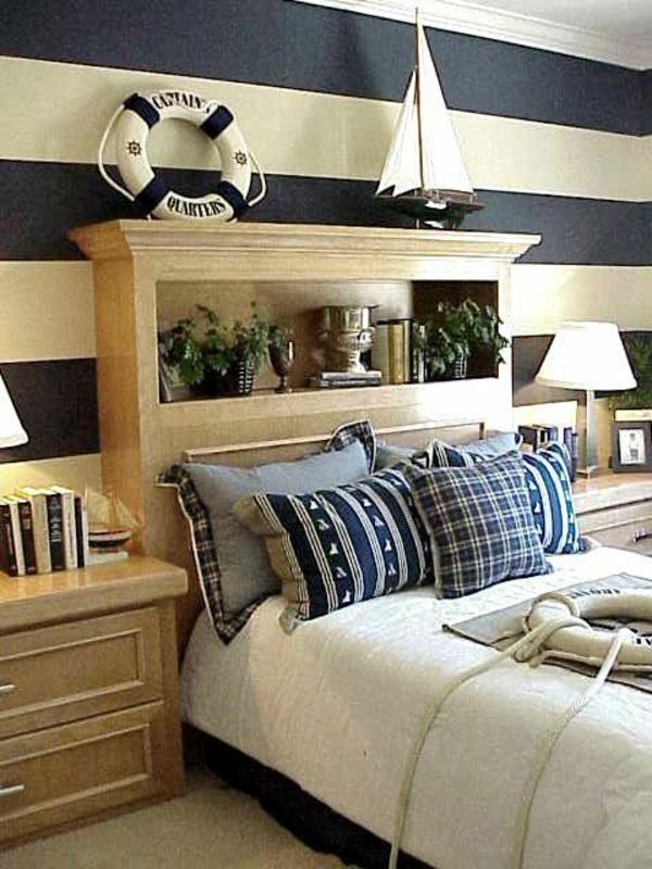 nautisches-design-schlafzimmer-rettungsring