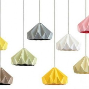 Origami - Lampenschirme-30 tolle Beispiele!