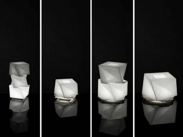 origami-lampenschirm-origam-ikerzchen-mit-den-schfarzen-hintergrund