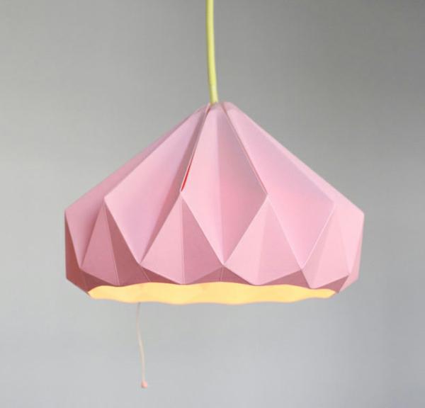 origami-lampenschirm-zart-rosa