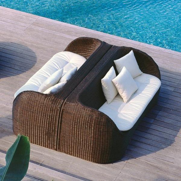 outdoor-rattanmöbel-Lounge-sofa-kissen