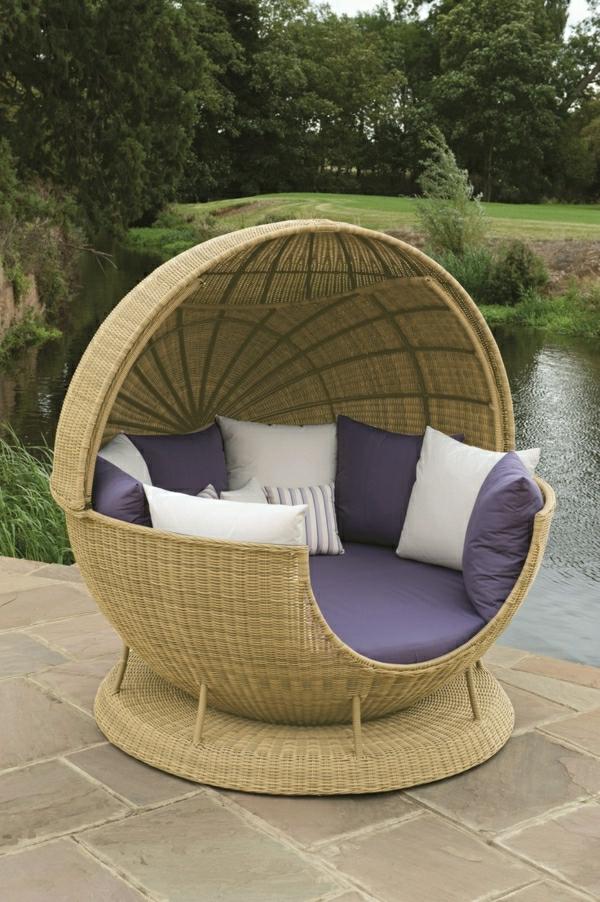 outdoor-rattanmöbel-Outdoor-Rattanmöbel-polyrattan-garten-ideen