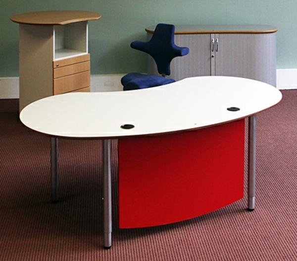 Ovaler Schreibtisch Nach Feng Shui Regeln Rot