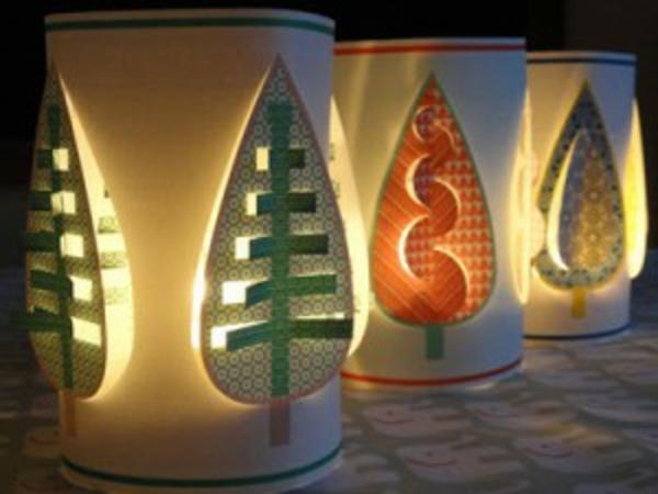 papierleuchten-schöne-farben-drei wunderbare modelle