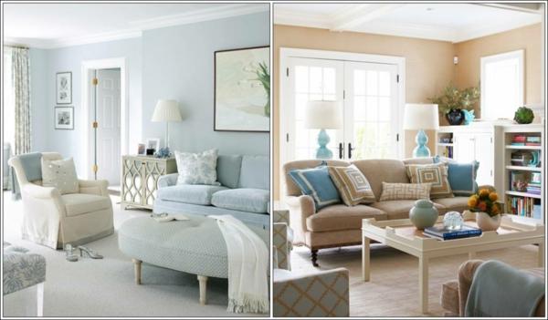 wandfarben blau raum und m beldesign inspiration. Black Bedroom Furniture Sets. Home Design Ideas
