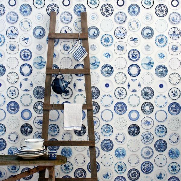 porzellan-in-blau-und-weiß-dekoration-fürßwand