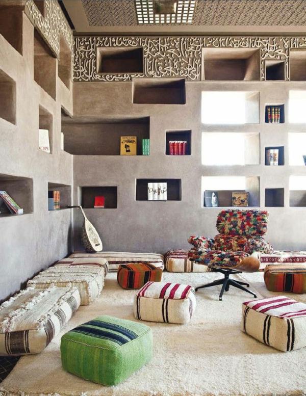arabisches wohnzimmer: kuche offene kueche wohnzimmer modern, Wohnzimmer