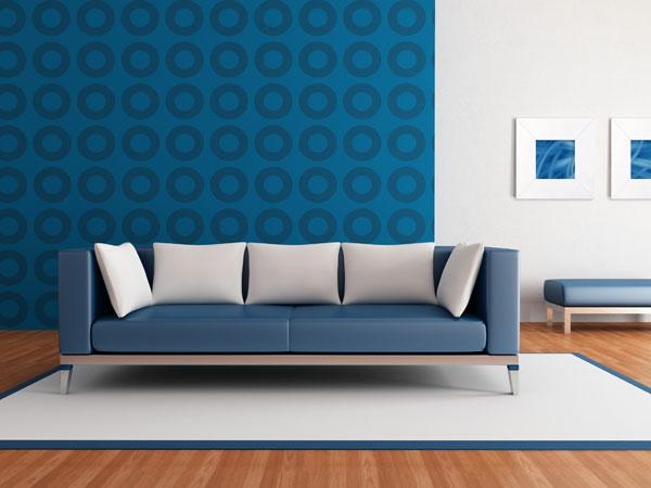 Wohnzimmertapete - neue Vorschläge für jeden Geschmack! - Archzine.net