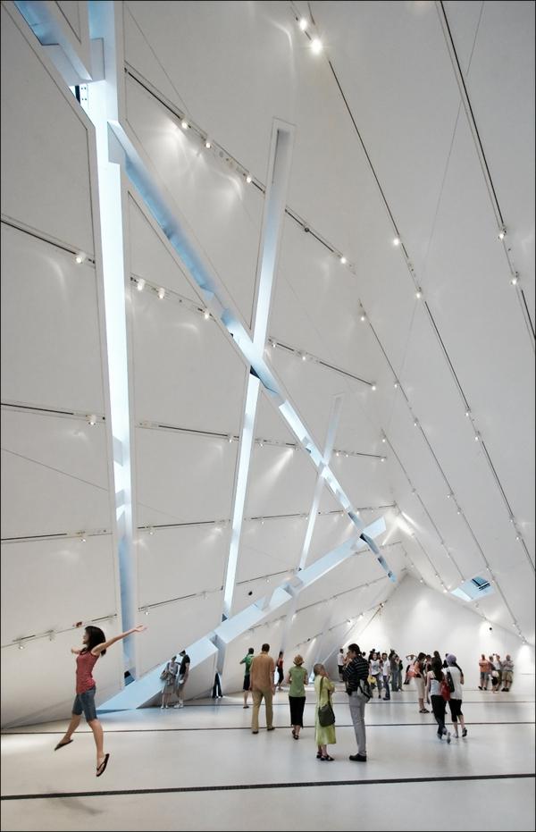 museum of art in denver- kristallstruktur