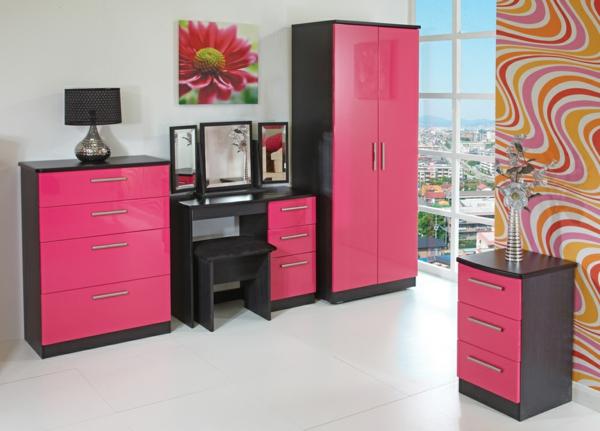 rosa-farbe-küche-dunkel