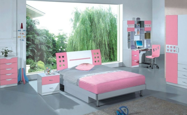 Mit farben einrichten rosa farbe f r eine rosa welt - Mature teenage girl bedroom ideas ...