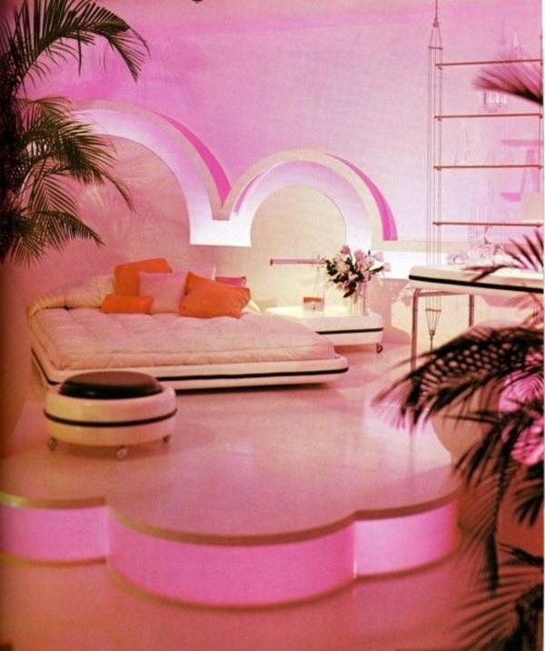 rosa-farbe-palmen