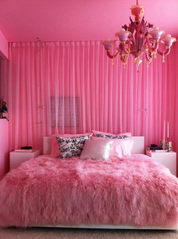 rosa-farbe-schlafzimmer