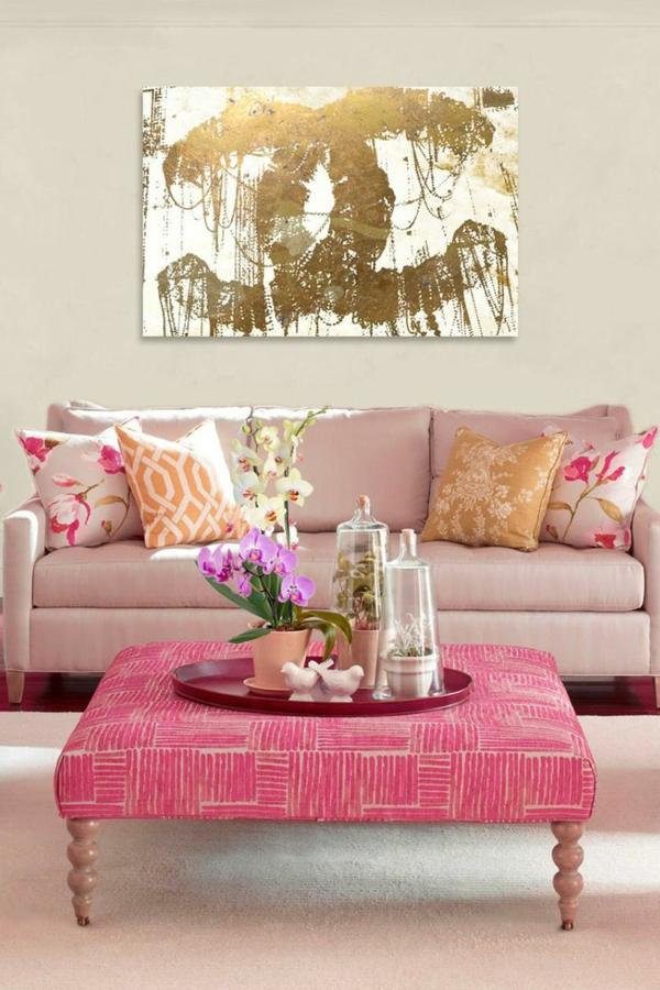 rosa-farbe-tisch