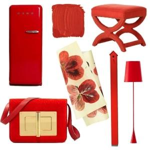 Einrichten mit Farben: Rote Farbe - Energie und Leidenschaft zu Hause!
