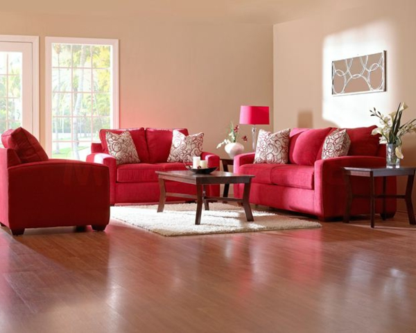 Einrichten Mit Farben Rote Farbe Energie Und