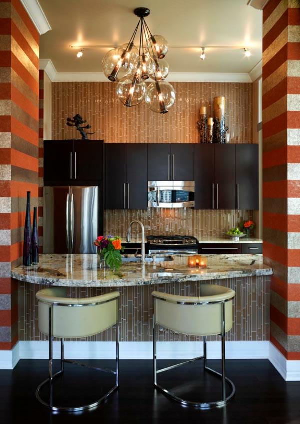 schöne-küche-das-arbeitsplatte-als-tisch-nutzen