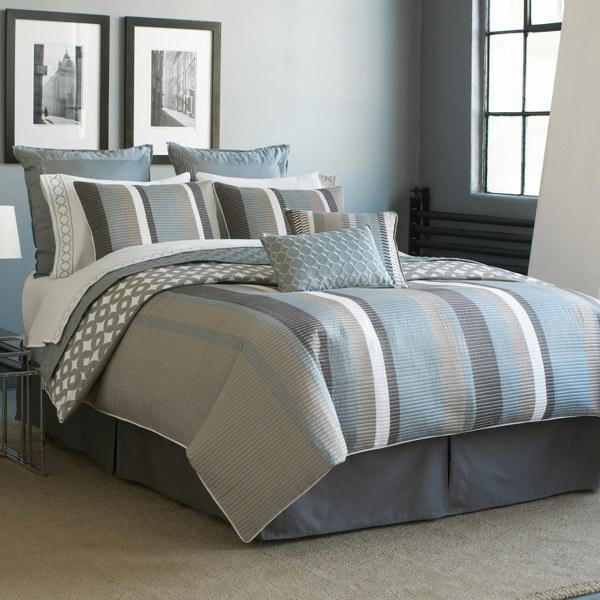 Schlafzimmer Graues Bett: Schlafzimmer Grau Mit Deutlicher Präsenz ... Schlafzimmer Einrichten Graues Bett
