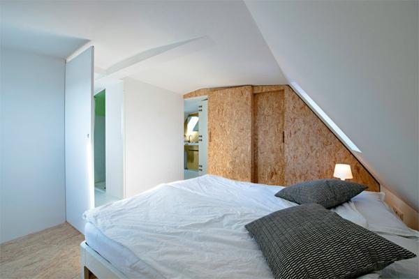 Schlafzimmer Im Dachgeschoss Ganz In Weiß Kork