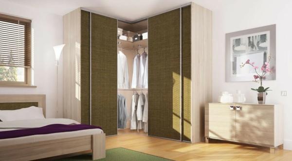 schlafzimmer-kleiderschrank in-der-ecke