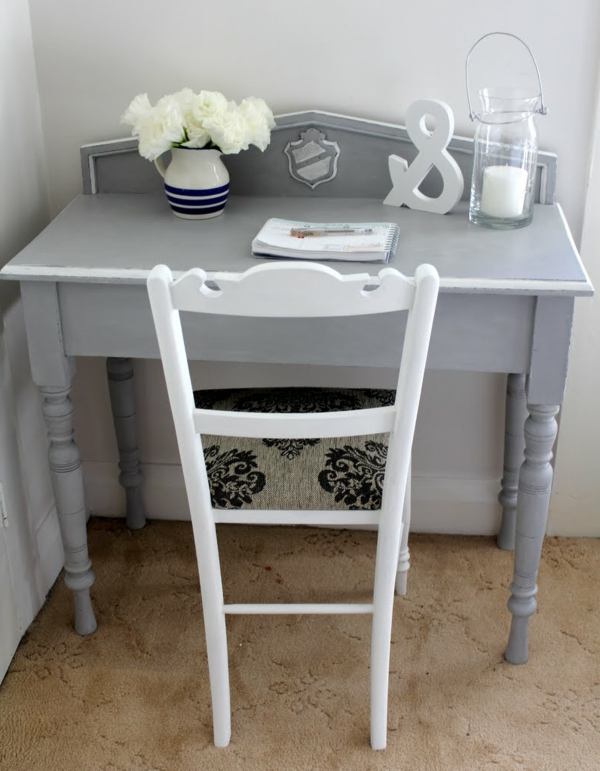 grauer schreibtisch com forafrica. Black Bedroom Furniture Sets. Home Design Ideas