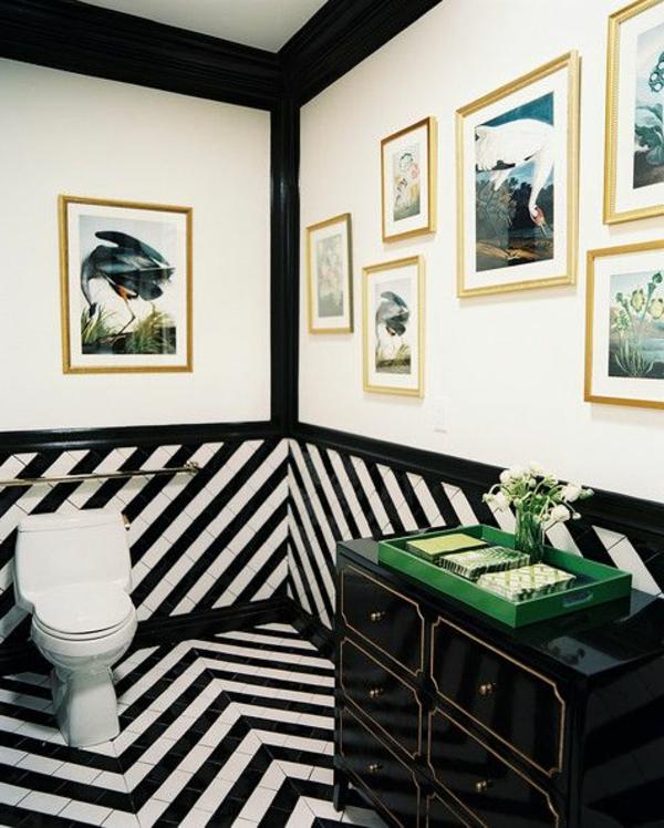 Schwarz – Weiß in Streifen - der Kontrast, der immer im Trend ist! - Archzine.net