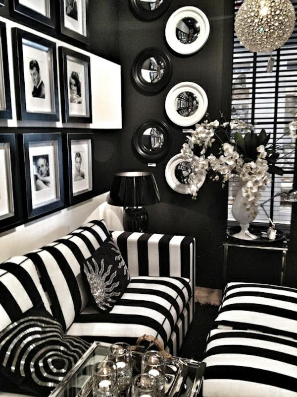schwarz-weiß-in-streifen-sofa