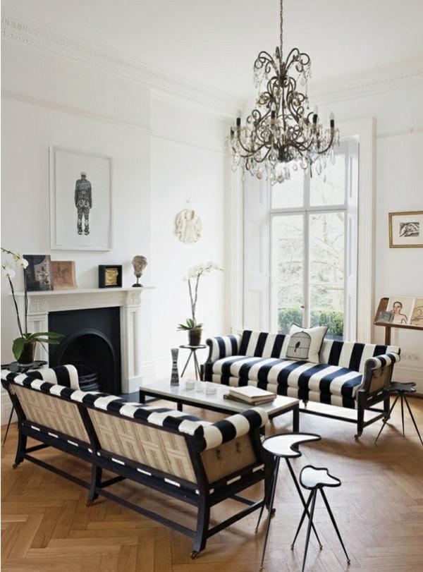 schwarz-weiß-in-streifen-sofas