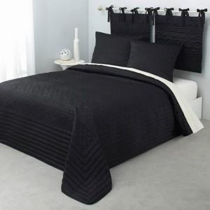Schwarze Bettwäsche sprechen von Eleganz und erster Klasse!
