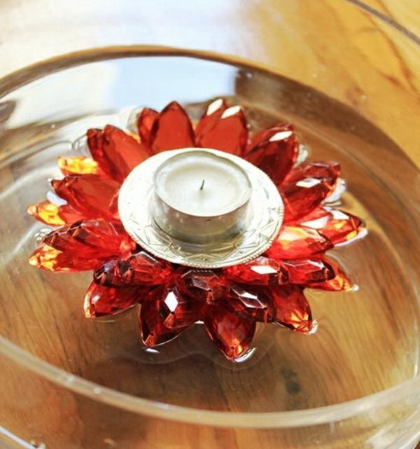 schwimmende-kerzen-super-schöne-dekoration- rote farben