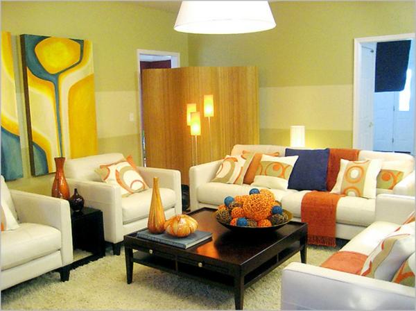 sehr-kreative-beleuchtungsideen-für-wohnzimmer-bunte lustige gestaltung