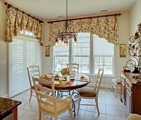 Neue gardinen dekorationsvorschl ge f r ihr zuhause - Esszimmer gardinen ...