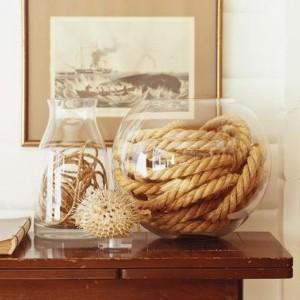 30 nautische Ideen mit Seil Dekoration!