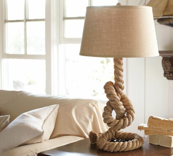seil-dekoration-stehlampe-weiß